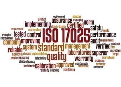 deGRANDSON Global ISO 17025 Laboratory Management System (LabMS) word cloud