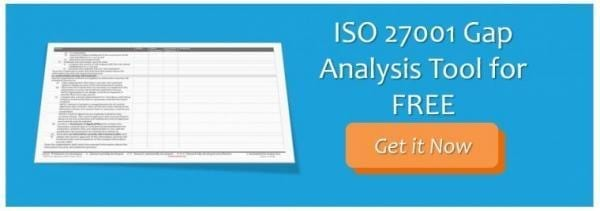CTA ISO 27001 Gap Analysis