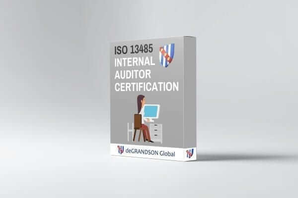 ISO 13485 Internal Auditor Certification Product