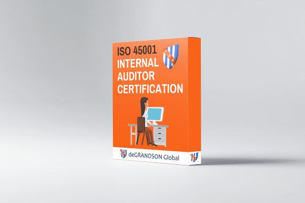 deGRANDSON Global UK ISO 45001 Occupational Health and Safety (OH&S) Management System Internal Auditor Certification Product