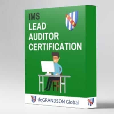 deGRANDSON Global Integrated Management System (IMS) Lead Auditor Certification online