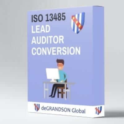 deGRANDSON Global ISO 13485 Medical Devices Management System (MDMS) Lead Auditor Conversion online course