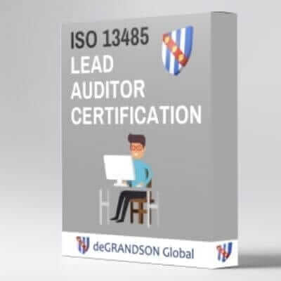 deGRANDSON Global ISO 13485 Medical Devices Quality Management System (MDMS) Lead Auditor Training