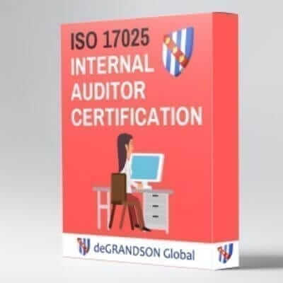 iso 17025 internal auditor certification