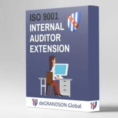 deGRANDSON Global ISO 9001 Quality Management System (QMS) Internal Auditor Extension Course