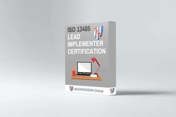iso 13485 lead implementer certification graphic