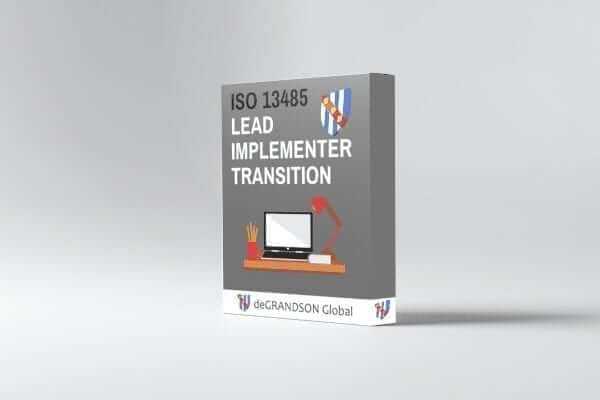 ISO 13485 Lead Implementer Transition Product image