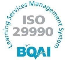 Our ISO 29990 Certification Logo
