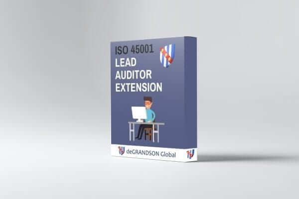 deGRANDSON Global ISO 45001 Occupational Health and Safety Management System (OH&SMS) Lead Auditor Extension online course