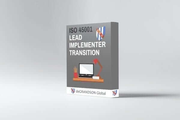 ISO 45001 Lead Implementer Transition Product image